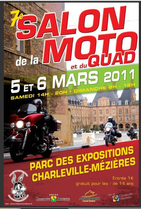 Salon de la moto charleville m zi res 2 et 3 mars 2013 - Salon moto charleville ...